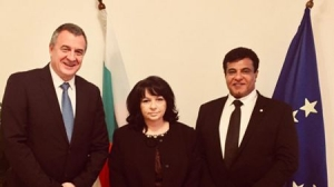 One of the most important topics in the country, security of our energy sources, was discussed in the meeting between Mrs. Temenuzhka Petkova, Minister of Energy, Mr. Tsvetlin Yovchev -Former Deputy Prime Minister And Honorary Presidential Member Of