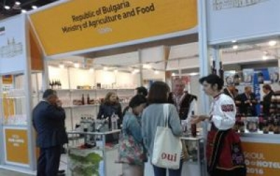 Bulgaria with a stand for the second time at the Seoul Food 2016 Exhibition