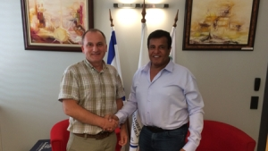 "Mr. Svetoslav Nakov, Adviser to the Minister of Regional Development and Public Works and former Executive Director of the ""Agency for Geodesy, Cartography and Cadastre"", visited the office of the Binational Chamber of Commerce Bulgaria - Israel ..."