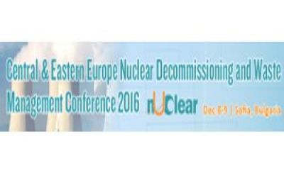 Central & Eastern Europe Nuclear Decommissioning and Waste Management Conference 2016