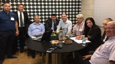 Secretary General of BCCBI Mr. Emil Magrisso came with a delegation of participants to the Israeli Agritech
