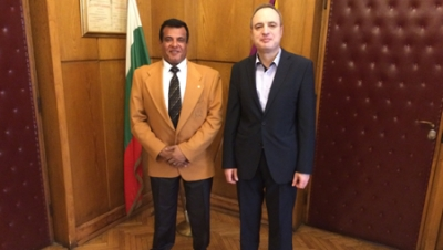 The President of BCCBI Mr. Avinoam Katrieli Met the Rector of Sofia Uiversity Prof. Anastas Gerdjikov