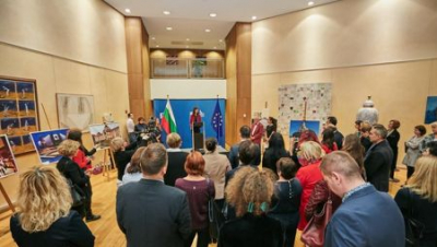 "Еxhibition ""Sofia - 140 Years Capital of Bulgaria"" was opened at the European Commission building in Brussels"