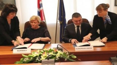 Agreement signed between the European Union and the Kingdom of Norway