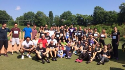 Mr Emil Magrisso, General Manager of I Love BG Foundation took part in a charity cross-training organized by Naum Shopov and Friends for little Nikola