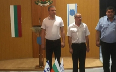 BCCBI lends vests for the use of Varna Police Department