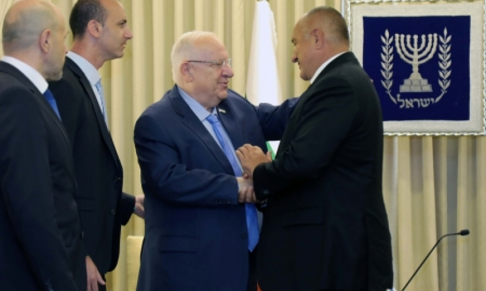 PM Boiko Borisov Visited Israel with High...