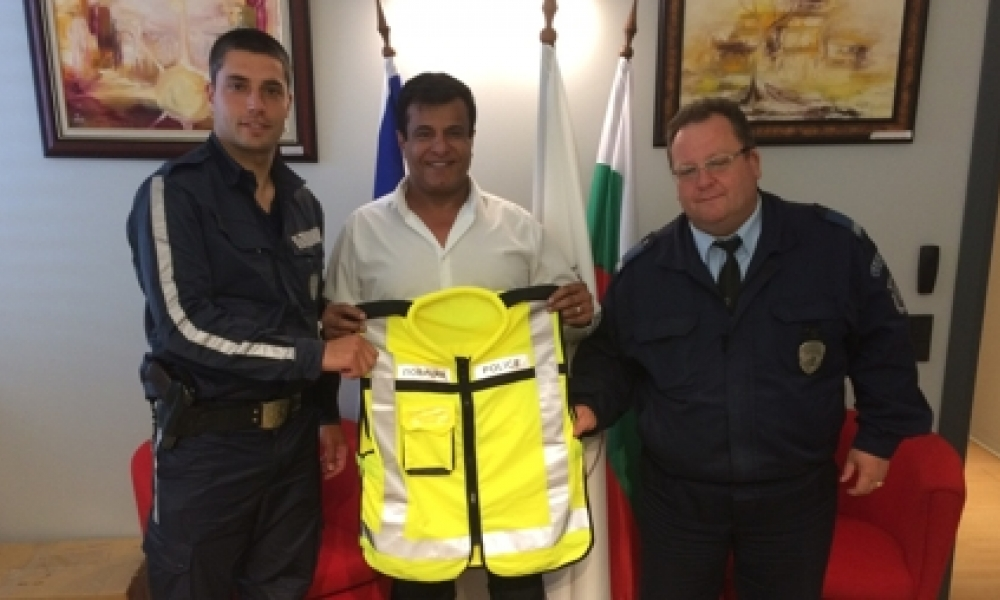 BCCBI  Lends vests for the use of Tsarevo...
